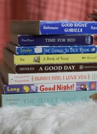 bedtime board books