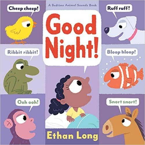 Good Night Animal Sounds | Best Board Books | High Low Baby