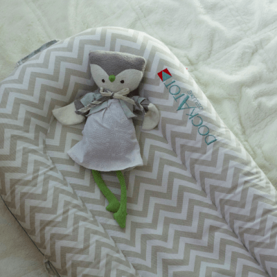 Dockatot Review by High Low Baby. The Dockatot is great for co-sleeping, tummy time, and more!