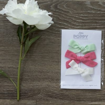Little Poppy Co. Bow Subscription: June 2017 Bows