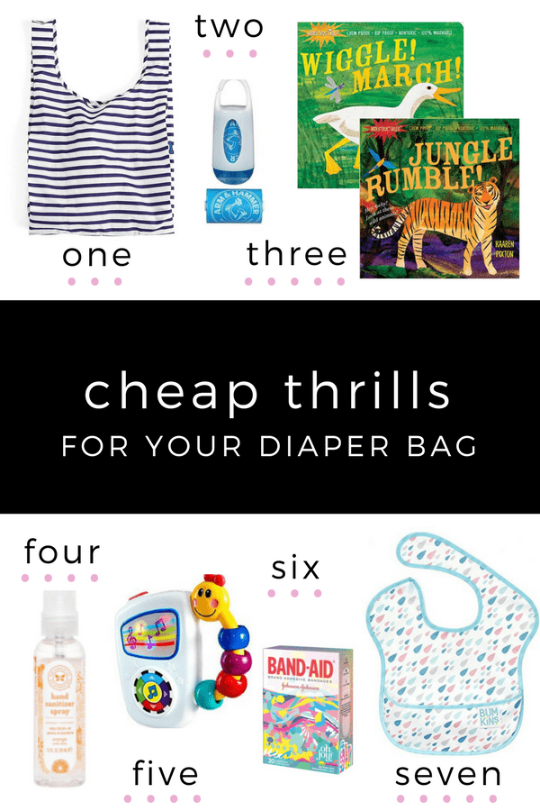 Best Baby Shower Gifts | All of these cheap thrills for your diaper bag are ten dollars and under! Great add-ons for your best baby shower gift in this roundup by High Low Baby.