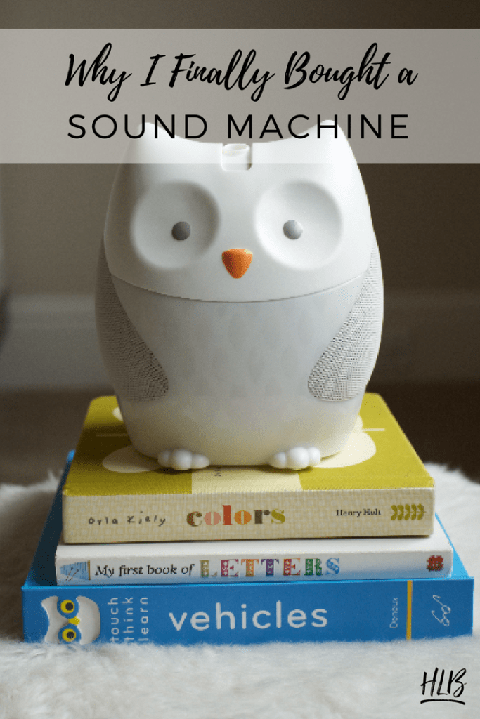 Articles for Moms | Read why I bought a sound machine to help my baby sleep through the night when we went on vacation.