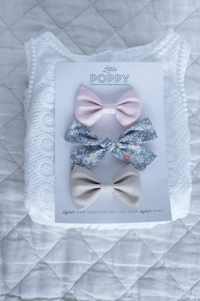 Little Poppy Co August Bows Review