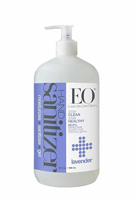 EO Hand Sanitizer | 7 Tools for a Perfect Diaper Change