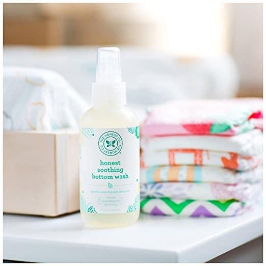 Honest Bottom Wash | 7 tools perfect diaper change