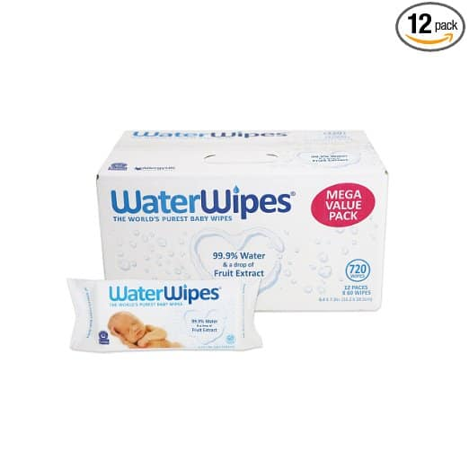 water wipes | 7 tools perfect diaper change