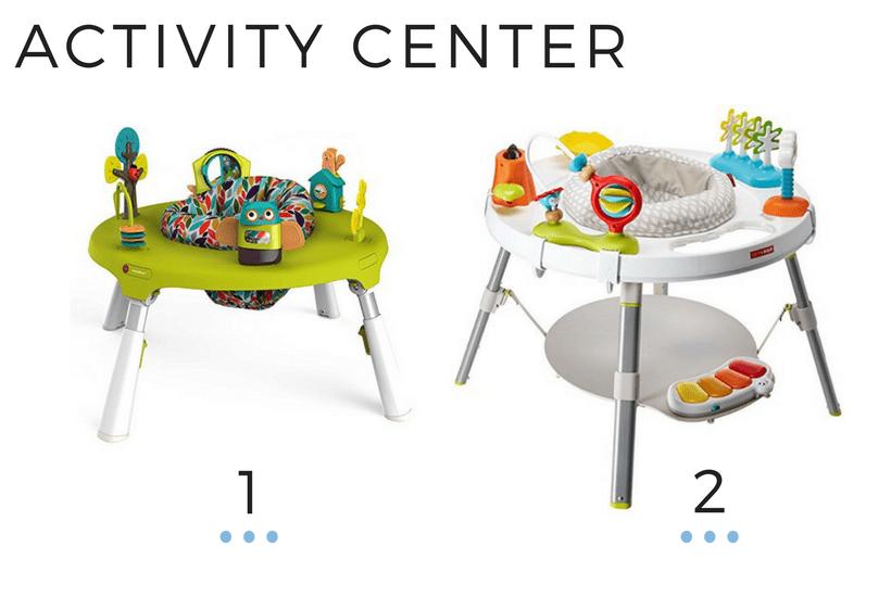 ACTIVITY CENTER + BABY PLAY