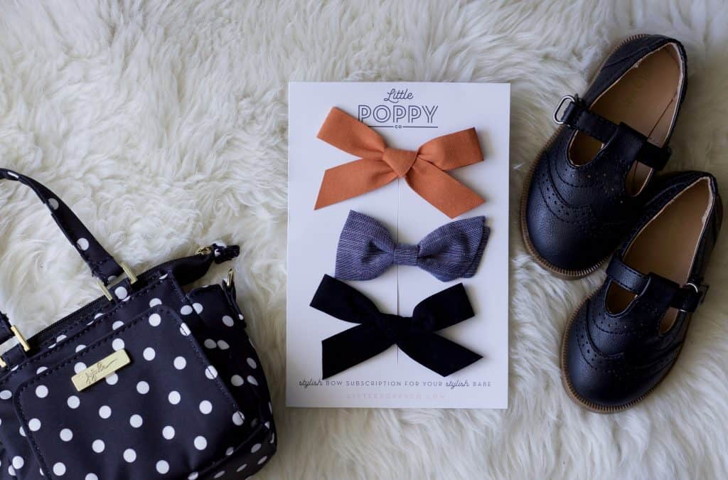 Little Poppy October Bows Review Bow Subscription High