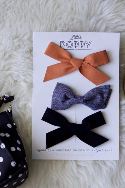 Little Poppy October Bows review