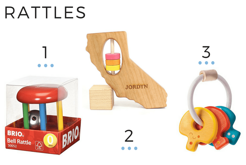 RATTLES 6M+ BABY PLAY