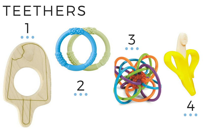 TEETHERS 6M+ BABY PLAY