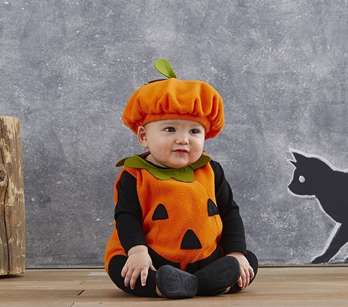 Pottery Barn Kids Baby Pumpkin Costume | Halloween Budget 2017