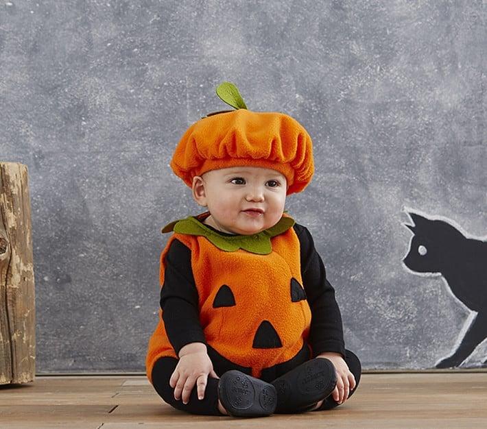 Pottery Barn Kids Baby Pumpkin Costume | Halloween Budget 2017