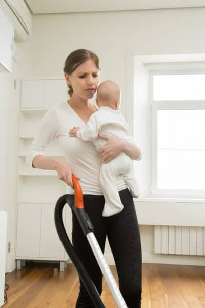 Simple Ways To Keep Your House Clean When You Have a New Baby