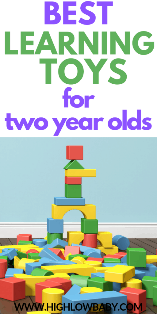 Best learning toys for two and three year olds
