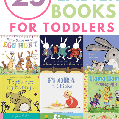 Complete your toddler's Easter basket with one of these fun Easter books! I've found cute boards books, classic picture books, and more Easter gift ideas for babies, todders, and preschoolers.