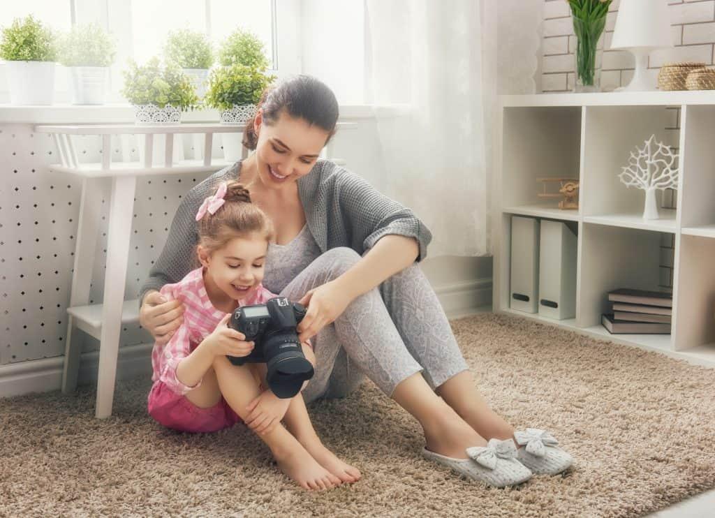 DSLR photo tips for moms