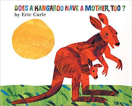 Eric Carle picture book about animal mothers
