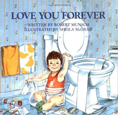 Classic mother's day book from sons