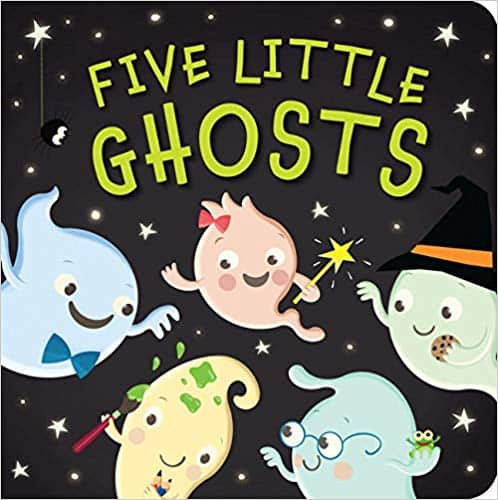 Great Halloween Books for Kids Five Little Ghosts