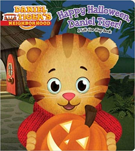 Daniel Tiger pop up book for Halloween