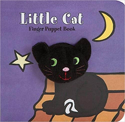 Little Cat Finger Puppet Book for Halloween