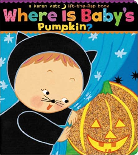 halloween book for baby