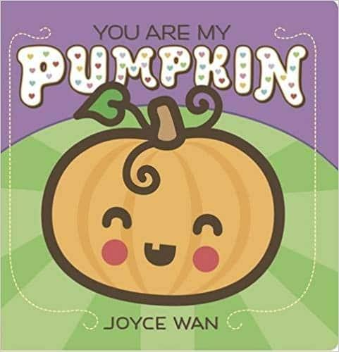 non-scary Halloween pumpkin book