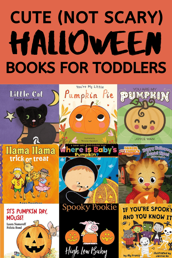 11 cute Halloween books for toddlers that are fun, not scary! Check out these great Halloween books for kids.